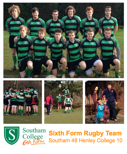 Flatliners Paramedic Rugby Football Club: Southam College Sixth Form