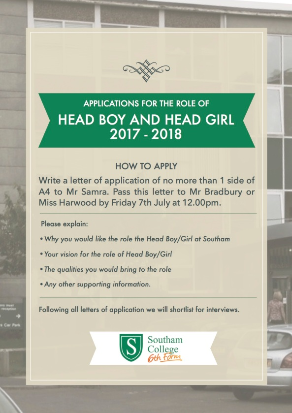 head boy:girl